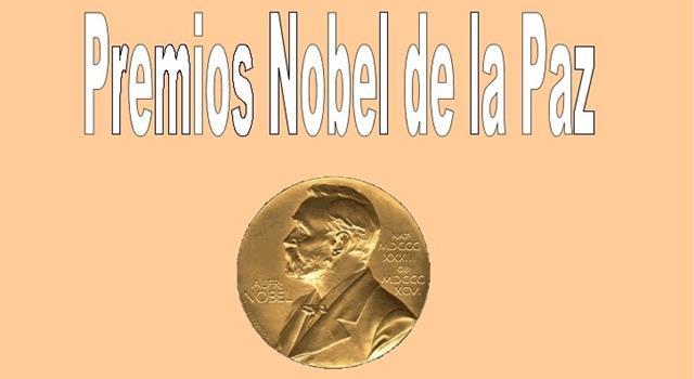 Sociedad Pregunta Trivia: ¿En qué año el premio Nobel de la Paz se otorgó a tres mujeres?