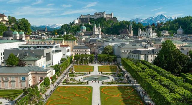 Geografía Pregunta Trivia: ¿En qué país se localiza Salzburgo?