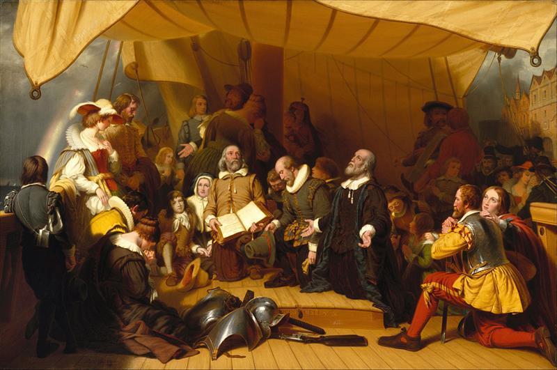 historia Pytanie-Ciekawostka: Jaka grupa wylądowała w Ameryce w 1620 roku?