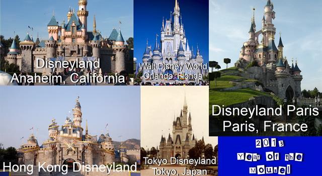 społeczeństwo Pytanie-Ciekawostka: Który park Disneya jest najbardziej popularnym parkiem rozrywki na świecie?
