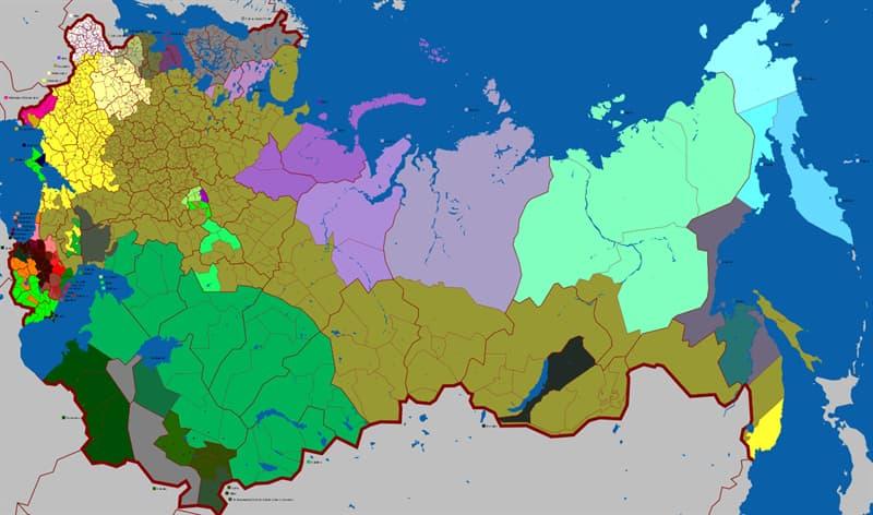 Geographie Wissensfrage: Welche russische Stadt wurde auch Leningrad und Petrograd benannt?