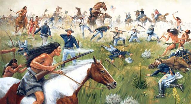 historia Pytanie-Ciekawostka: Jak plemiona indiańskie Dakotów nazywają bitwę nad Little Bighorn?