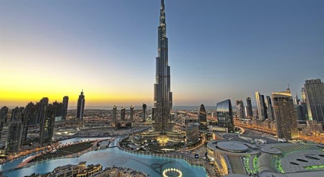 Cultura Pregunta Trivia: ¿Cuál es el edificio más alto del mundo?
