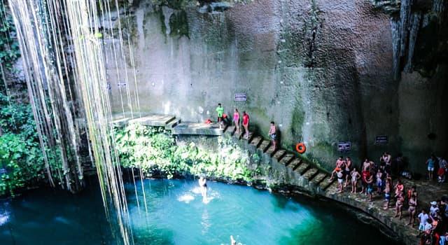 Cultura Pregunta Trivia: ¿Cúal es el origen de la palabra cenote?