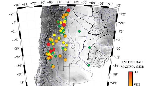 Naturaleza Pregunta Trivia: ¿Cuál fue el primer terremoto registrado por el INPRES en la República Argentina?
