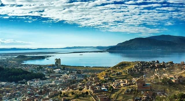 Geografía Pregunta Trivia: ¿Cuál es el lago navegable  más alto del mundo?
