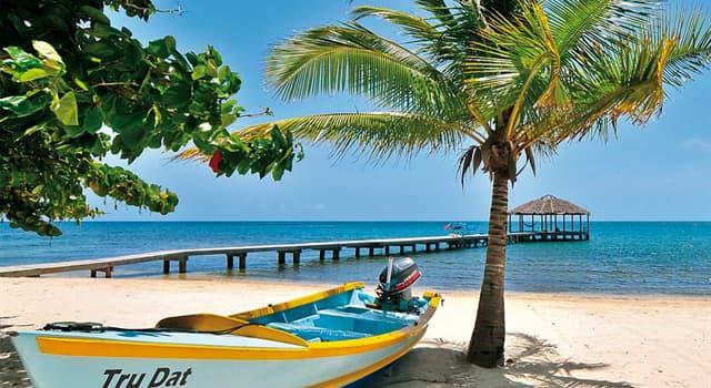 Geografía Pregunta Trivia: ¿Dónde está ubicada la isla Roatán?