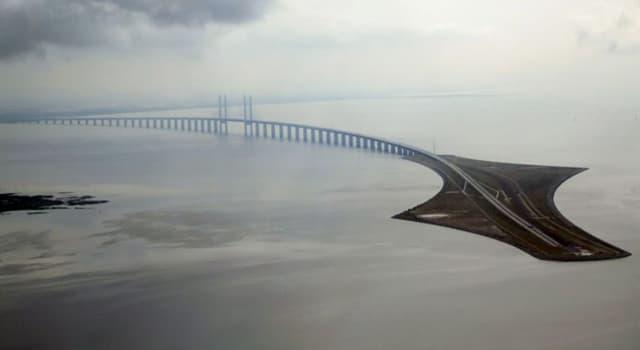 Cultura Pregunta Trivia: ¿En dónde está el puente Øresund?