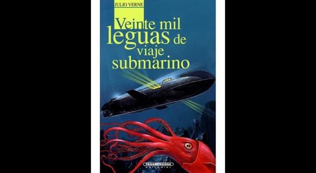 """Cultura Pregunta Trivia: ¿En las costas de qué país finaliza la aventura narrada en la novela de Julio Verne """"Veinte mil leguas de viaje submarino""""?"""