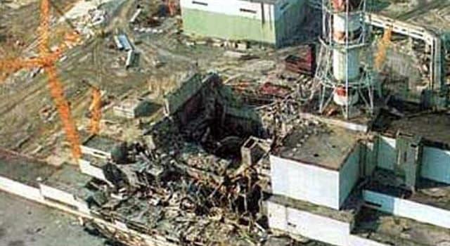 Historia Pregunta Trivia: ¿En qué fecha ocurrió la explosión nuclear en Chernobyl?