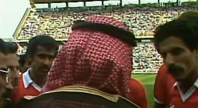 Deporte Pregunta Trivia: ¿En qué Mundial de Fútbol un jeque árabe logró que el árbitro anulara un gol contra su selección?