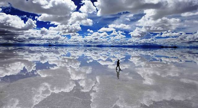 Naturaleza Pregunta Trivia: ¿En qué país andino se localiza el Salar de Uyuni?