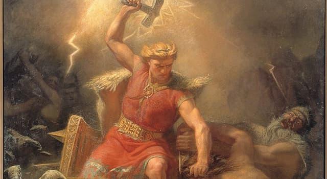 Kultura Pytanie-Ciekawostka: W mitologii nordyckiej, kto jest ojcem Thora?