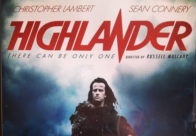 """Filmy Pytanie-Ciekawostka: W którym miejscu w """"Highlander"""" nieśmiertelni nie mogą walczyć?"""