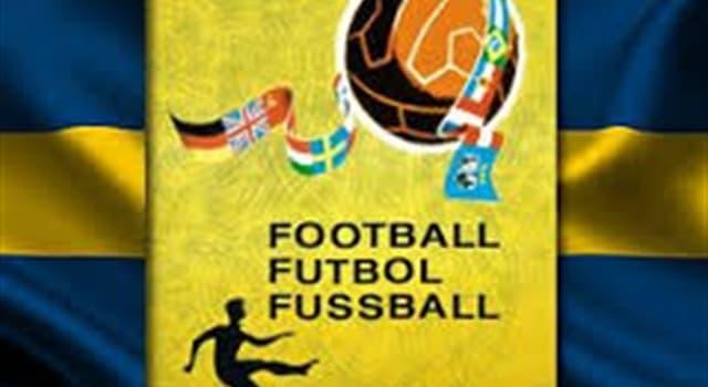 Deporte Pregunta Trivia: ¿La selección de qué país ganó el campeonato mundial de fútbol de 1958?