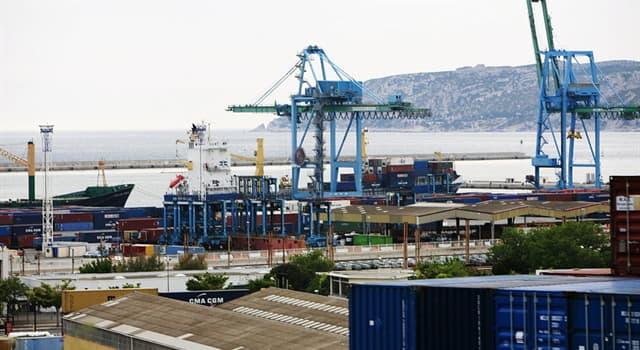 Geographie Wissensfrage: An welchem Meer liegt der Hafen Marseille Europort?
