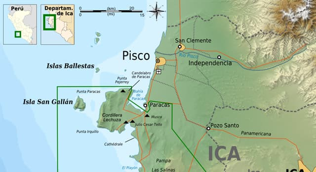 Geografía Pregunta Trivia: ¿Qué se puede encontrar en las Islas Ballestas, en Perú?