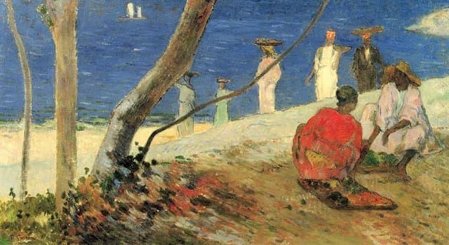 historia Pytanie-Ciekawostka: Jaki kanał pomógł Paul Gauguin zbudować jako robotnik?