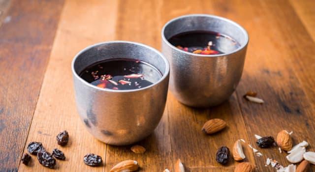 """Kultur Wissensfrage: Welches Land feiert Weihnachtszeit mit einem traditionellen Getränk """"Glögg""""?"""