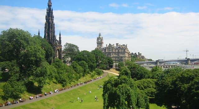 Geographie Wissensfrage: Was ist die Hauptstadt Schottlands?