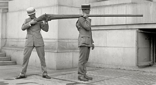 Gesellschaft Wissensfrage: Wie heißt diese Waffe?
