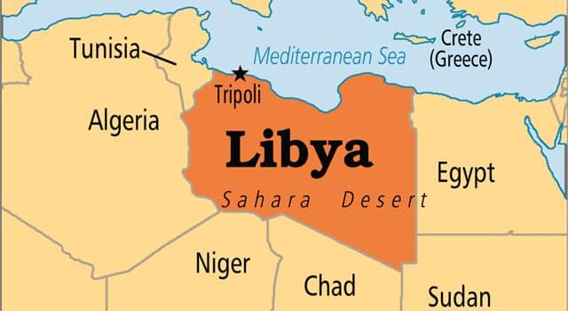 Kultura Pytanie-Ciekawostka: Jaki jest język urzędowy Libii?