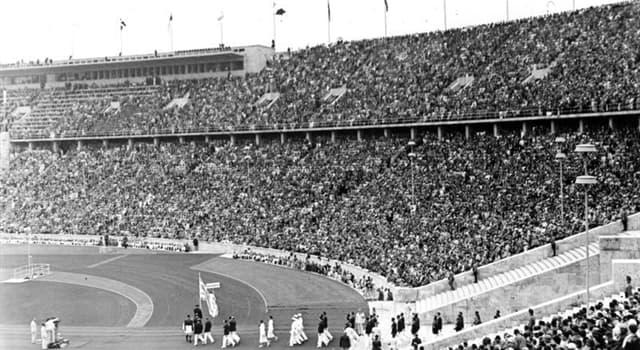 Sport Wissensfrage: Wo fanden die Olympischen Sommerspiele 1936 statt?