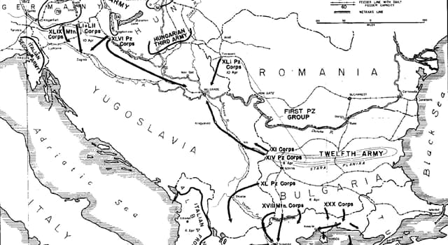 Geschichte Wissensfrage: Welches der folgenden Länder war kein Verbündeter Deutschlands während des Zweiten Weltkriegs?