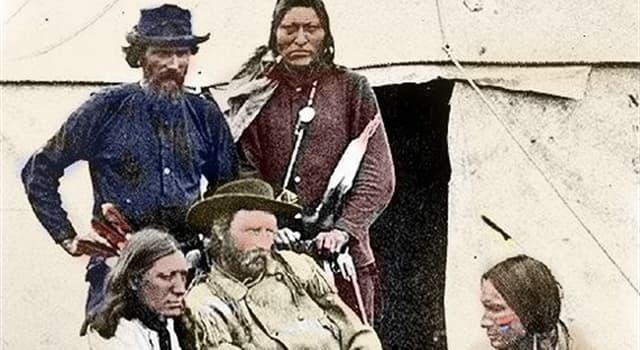 historia Pytanie-Ciekawostka: Który z poniższych nie służył z generałem Custerem w bitwie o Little Big Horn?