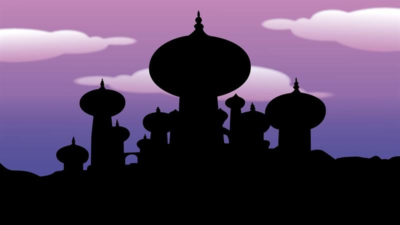 Movies & TV Trivia Question: Who appears when Aladdin rubs the lamp?