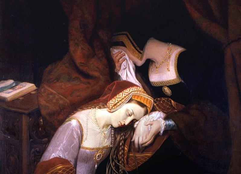 Geschichte Wissensfrage: Von wem wurde Anne Boleyn enthauptet?