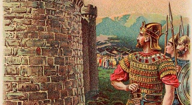 Geschichte Wissensfrage: Wer war der zweite König von Israel?