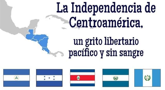 Historia Pregunta Trivia: ¿Cuándo se celebra el día de la Independencia de Centroamérica?