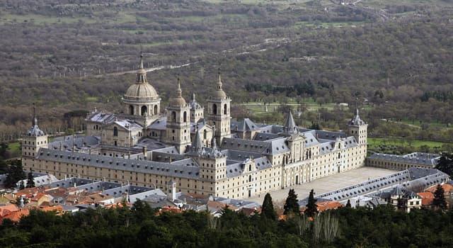 Historia Pregunta Trivia: ¿Dónde se encuentra el Monasterio de El Escorial?