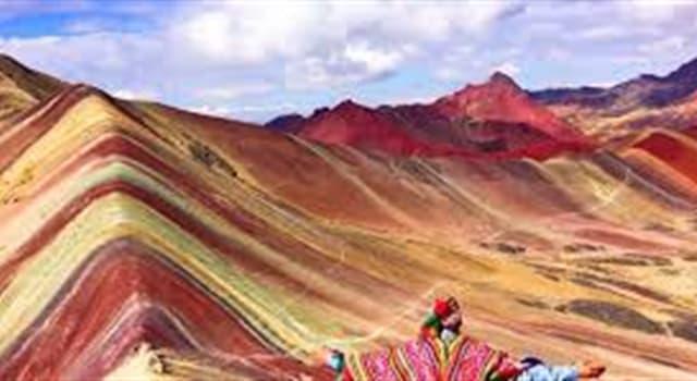 Geografía Pregunta Trivia: ¿En dónde está ubicada la montaña mostrada en la imagen?