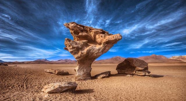 Geografía Pregunta Trivia: ¿En qué país está el Árbol de Piedra?