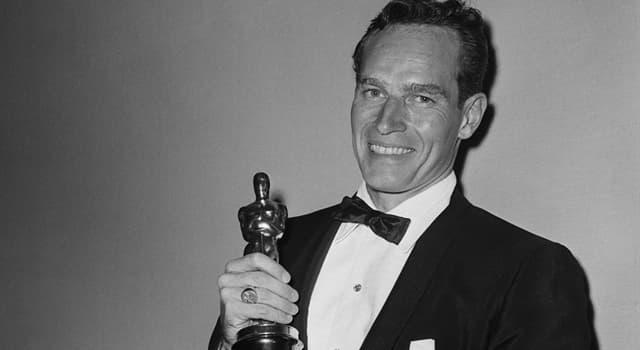 Film & Fernsehen Wissensfrage: Für seine Rolle in welchem Film erhielt Charlton Heston einen Oscar?