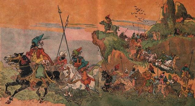 """Kultur Wissensfrage: Welche Worte von Ali Baba öffnen Ali Babas Höhle im Märchen """"Ali Baba und die 40 Räuber""""?"""