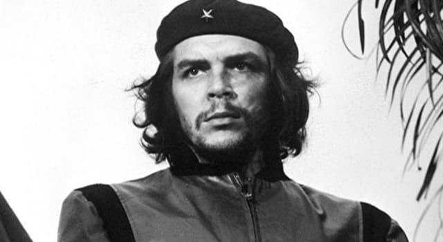 historia Pytanie-Ciekawostka: Jakiej narodowości był marksistowski rewolucjonista Che Guevara?