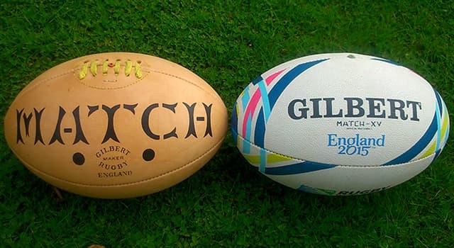 Deporte Pregunta Trivia: ¿Por qué la pelota de rugby es ovalada?