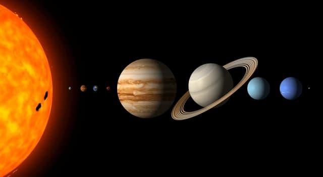 Сiencia Pregunta Trivia: ¿Qué son los planetas jovianos?