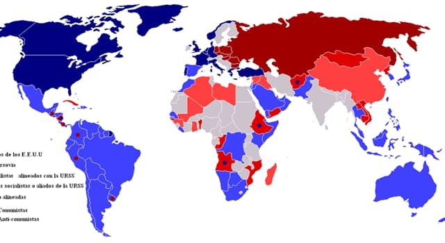 Historia Pregunta Trivia: ¿Qué fue la guerra fría?