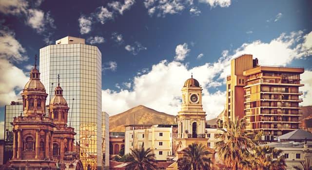 Geographie Wissensfrage: Was ist die Hauptstadt von Chile?