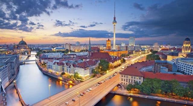 Geographie Wissensfrage: Was ist die Hauptstadt Deutschlands?