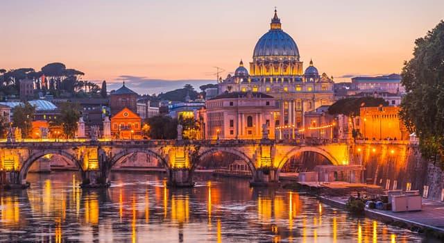 Geografia Pytanie-Ciekawostka: Jaka jest stolica Włoch?
