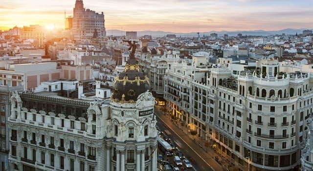 Geografia Pytanie-Ciekawostka: Jaka jest stolica Hiszpanii?