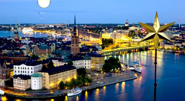 Geografia Pytanie-Ciekawostka: Jaka jest stolica Szwecji?