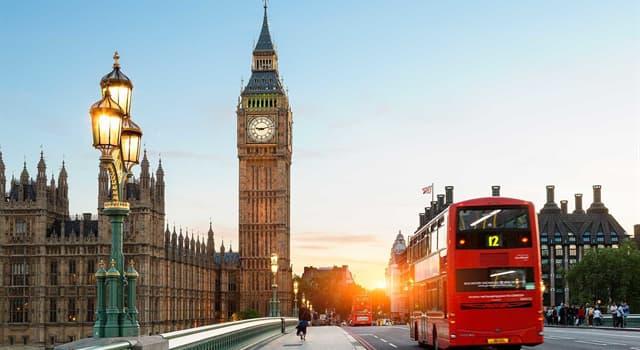 Geographie Wissensfrage: Welche Stadt ist die Hauptstadt des Vereinigten Königreichs?