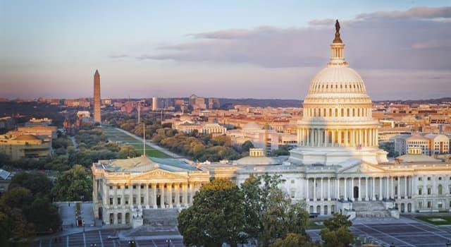 Geographie Wissensfrage: Was ist die Hauptstadt der Vereinigten Staaten?