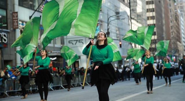 Kultur Wissensfrage: Wann wird der St. Patrick's Day gefeiert?